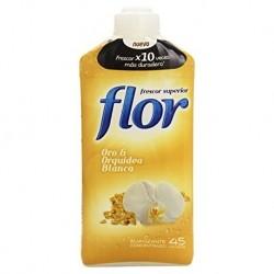 Flor Suavizante Oro y Orquidea Blanca Concentrado  45 Lavados