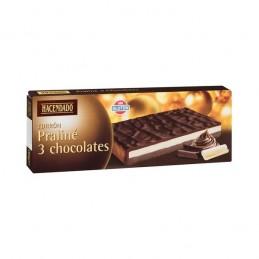 Turron de 3 chocolates 150gr