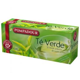 Pompadour Green Tea Box of 25