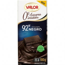 VALOR 92% dark chocolate...